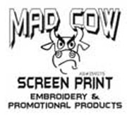 Mad Cow Screen Print logo